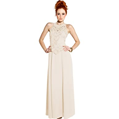Mother Of The Bride Sleeveless Formal Wedding Gown MOB Dress 4X Ivory At Amazon Womens Clothing Store