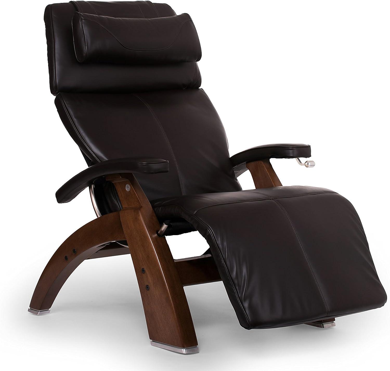Human Touch Perfect Chair PC-420 Classic Plus Premium Full Grain Leather Zero Gravity Recliner, Espresso