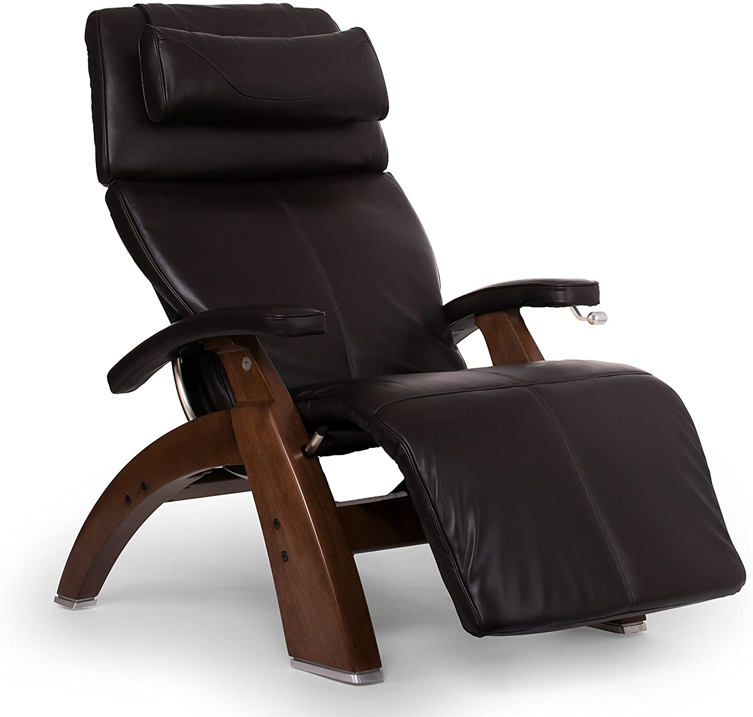 Human Touch Perfect Chair PC-420 Classic Plus Premium Full Grain Leather Zero Gravity Recliner, Espresso