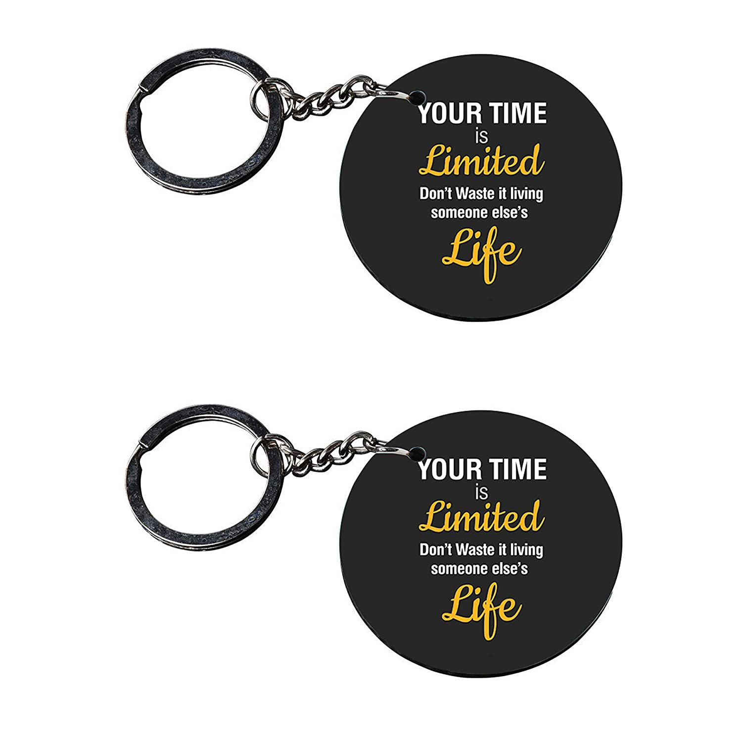 vprint quality time is limited keychain quotes printed