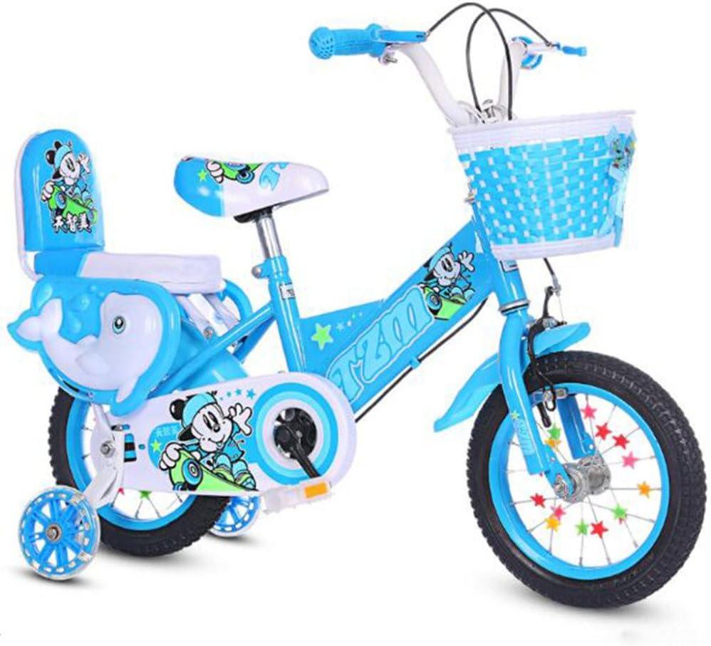 HUALQ Bicicleta S603 Bicicleta para Niños Princesa Bebé Bicicleta para Bebés Bicicleta 12-14-16-18 Pulgadas: Amazon.es: Jardín