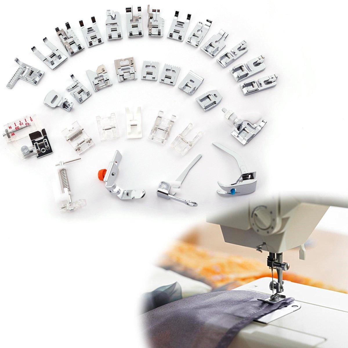 SurePromise One Stop Solution for Sourcing 32 Piezas palanqueta Multifuncional para máquina de Coser domistique # 650: Amazon.es: Hogar