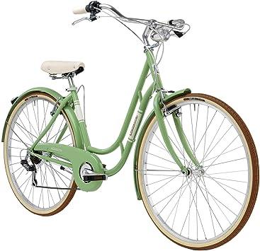 Adriatica - Bicicleta Clasica Danish Lady 48cm 6v Verde: Amazon.es ...