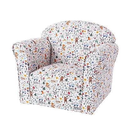 Amazon.com: ZHIRONG - Sillas de salón para sofá infantil, de ...