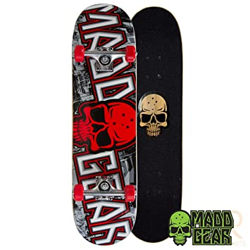 9dba7ca2a7 Madd Gear Pro Series Skateboards (Grittee Red)