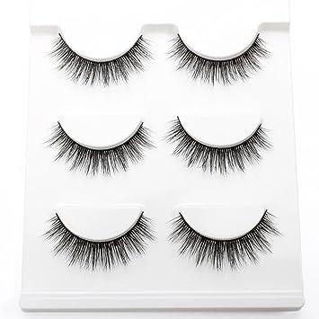 3f46e2c8891 3D False Eyelashes Beautyorigin Fake Eye Lashes Cruelty-free CrissCross  Natural Looking Handmade Reusable Makeup