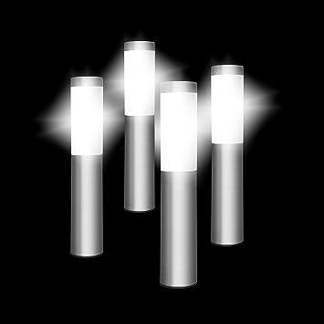 Poste de Luz Solar Oscar (Paquete de 4), Luces Solares, Iluminación para