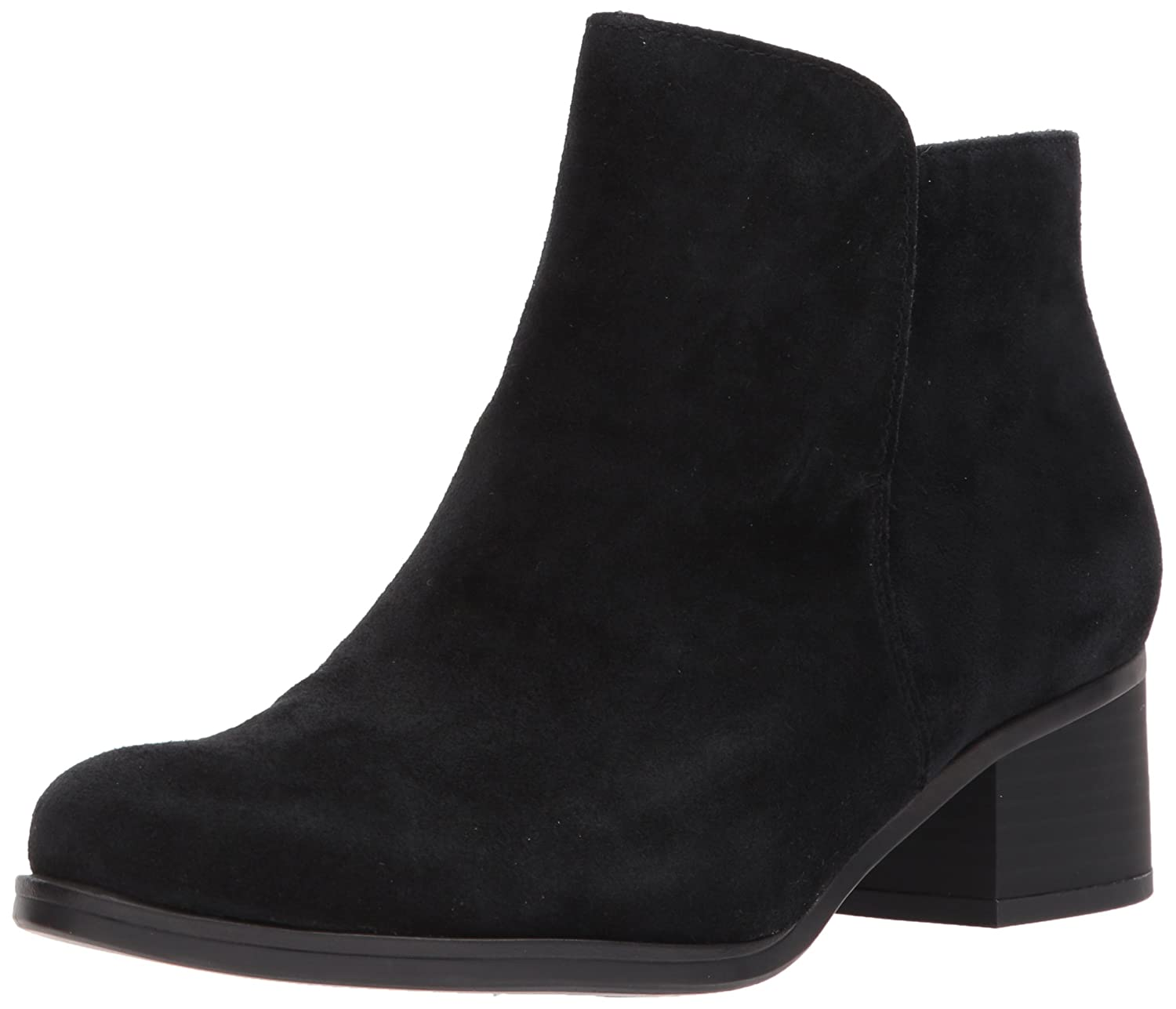 Naturalizer Women's Dawson Chelsea Boot B071NGY1SV 9 B(M) US|Black Suede