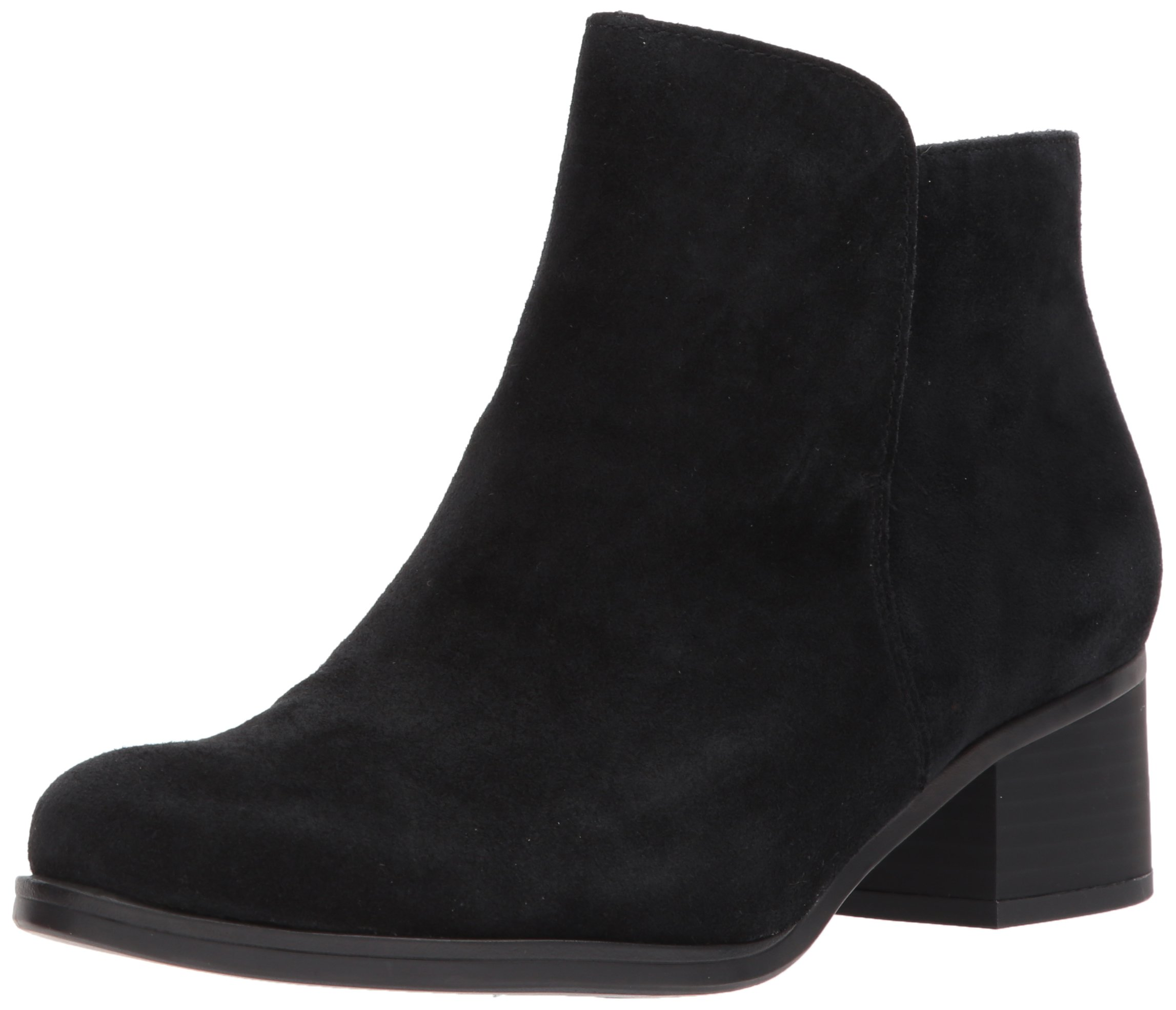 Naturalizer Women's Dawson Chelsea Boot, Black Suede, 6 Medium US