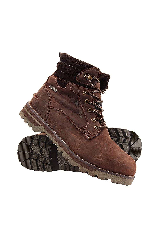Mountain Warehouse Shiya Wasserdichte Winter-Wanderschuhe für Männer - Isotherm-Schuhe, warm und Thermisch, wasserfest, Stabiler Halt, langlebig - für Schnee, Camping