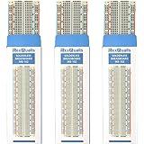 3PCS MB-102 830 Point Solderless Breadboards Prototype PCB Board Kit for Arduino Uno R3 Mega Proto board