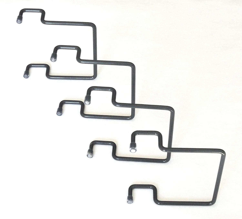 ACCESSOIRES-LITERIE Topes de colchón Lateral para Marco Metal 30 x 30 Gris (4 Pieces): Amazon.es: Hogar