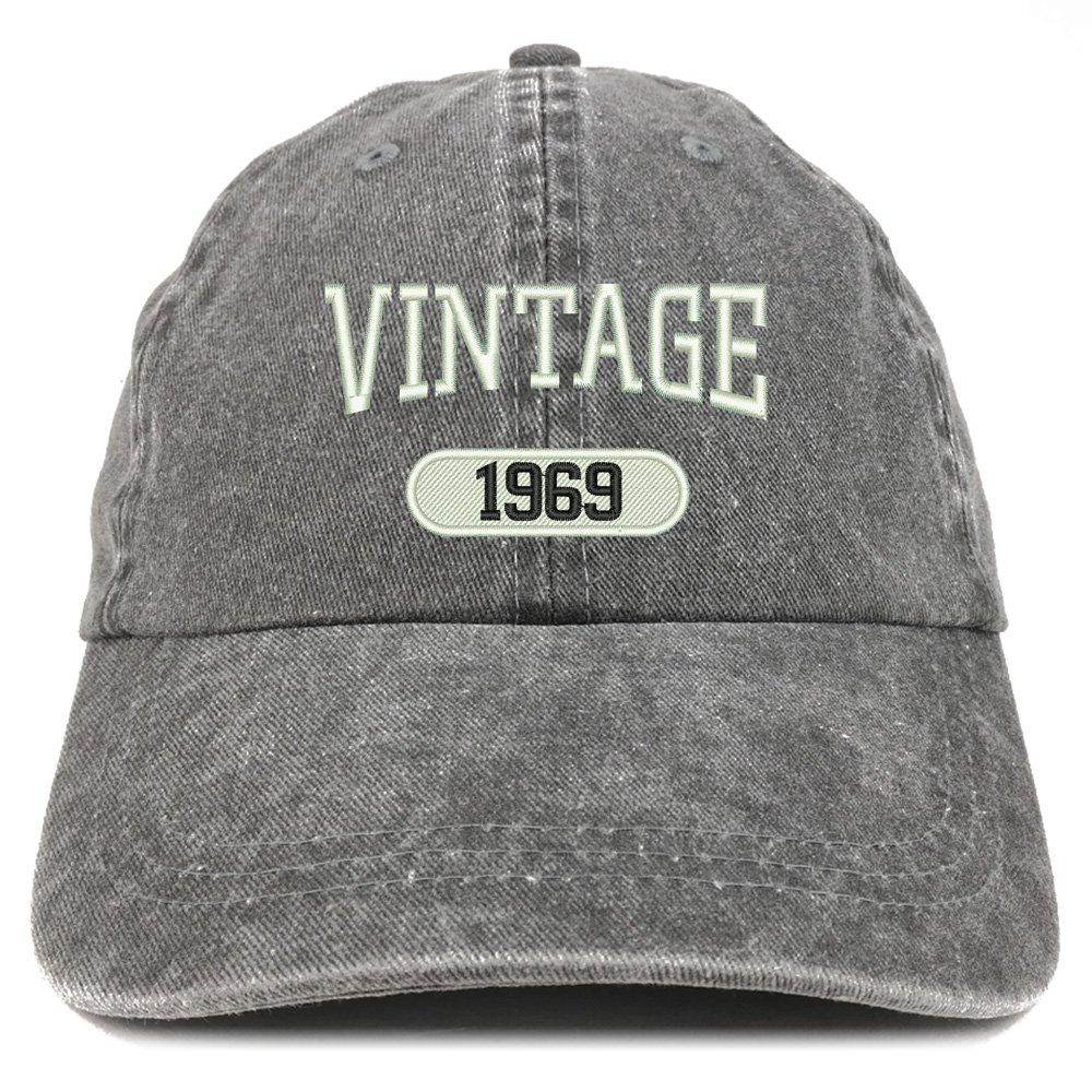 Amazon.com: Trendy Apparel Shop Vintage 1969 Gorra de ...