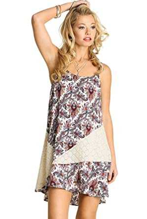 624846a5531 Umgee Boho Tank Dress