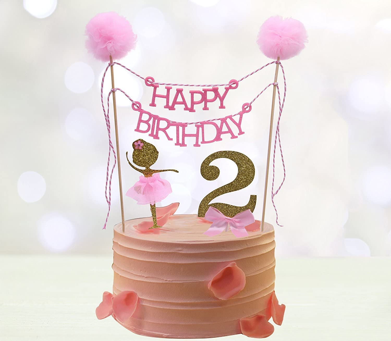 Awesome Amazon Com Second Birthday Cake Toppers Happy Birthday Cake Funny Birthday Cards Online Eattedamsfinfo
