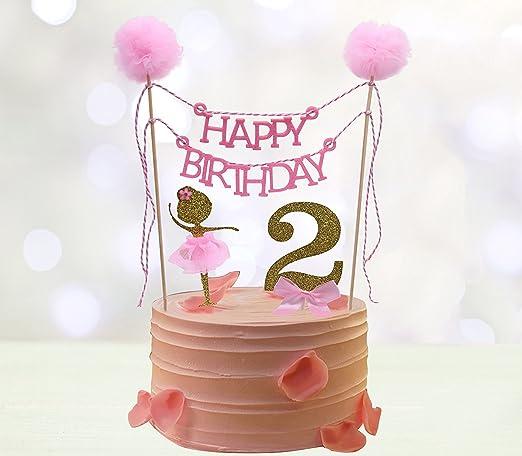 Phenomenal Amazon Com Second Birthday Cake Toppers Happy Birthday Cake Personalised Birthday Cards Paralily Jamesorg