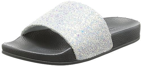 Victoria Sandalia Pala Glitter, Zapatillas para Mujer: Amazon.es: Zapatos y complementos