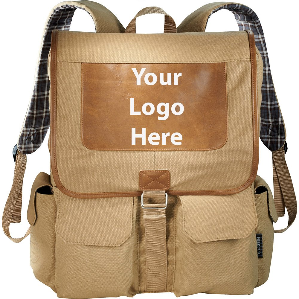 Field & Co. Cambridge 17'' Computer Backpack - 24 Quantity - $39.10 Each - PROMOTIONAL PRODUCT / BULK / BRANDED with YOUR LOGO / CUSTOMIZED
