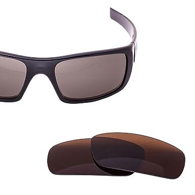 bffb398a33 LenzFlip Lenses Compatible with Oakley CRANKSHAFT - Brown at Amazon ...