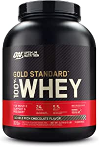 Optimum Nutrition Gold Standard 100% Whey Double Rich Chocolate Protein Powder 2.27kg