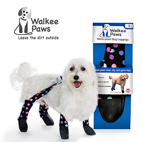 37bff0d4444ba Walkee Paws Waterproof Dog Leggings - Keep Your Dog's' Clean & Dry Without  The Hassle