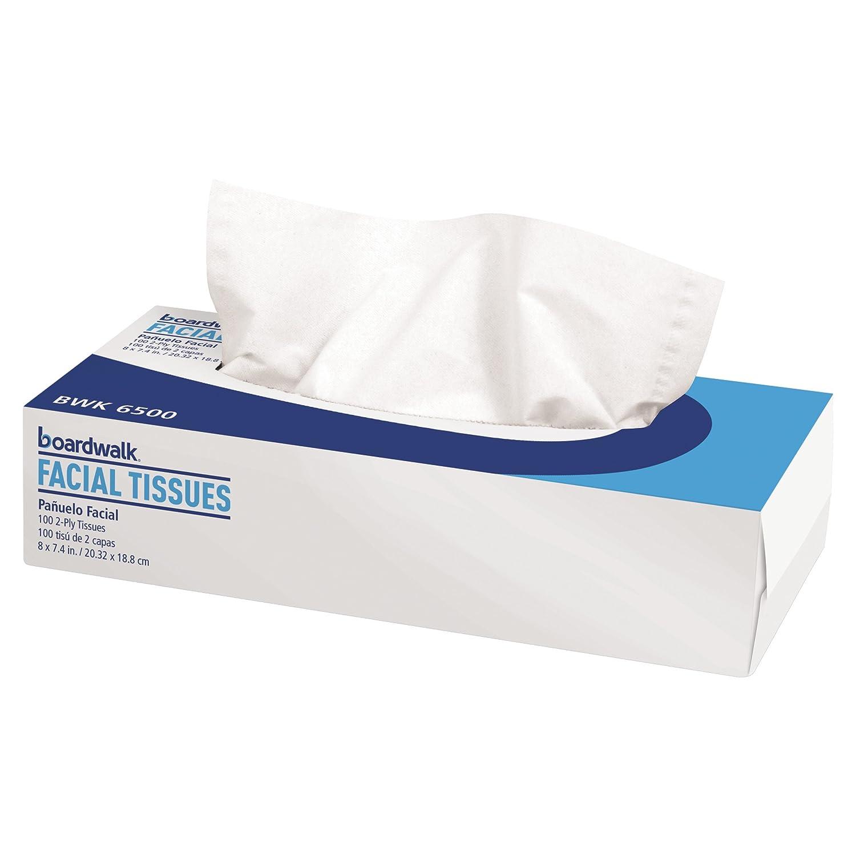 Facial Tissue, Flat Box, 100 Sheets/Box, 30 Boxes/Carton (並行輸入品) B004EHZ8HU
