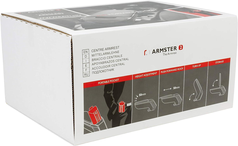 Armster 2 V00327 Mittelarmlehne schwarz