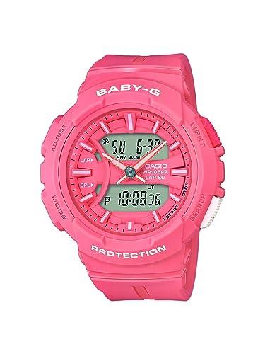 BABY-G Reloj Analógico-Digital para Mujer de Cuarzo con Correa en Resina BGA-240BC-4AER: Amazon.es: Relojes