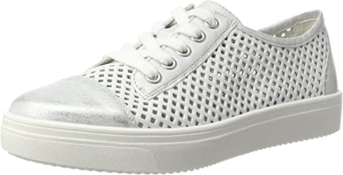 Remonte Damen R7804 Low top, Weiß (iceweiss81), 39 EU