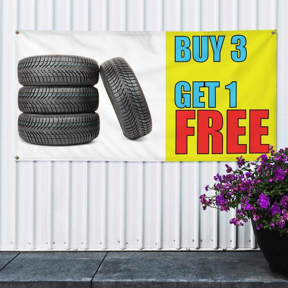 One Banner 44inx110in Multiple Sizes Available 8 Grommets Vinyl Banner Sign We Fix Game Systems Business Fix Marketing Advertising White