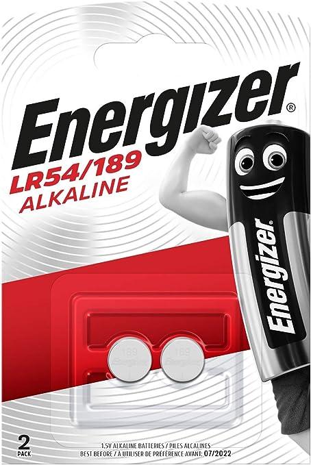 Energizer Lr54 189 Alkali Batterien 1 5v 2 Stück Elektronik