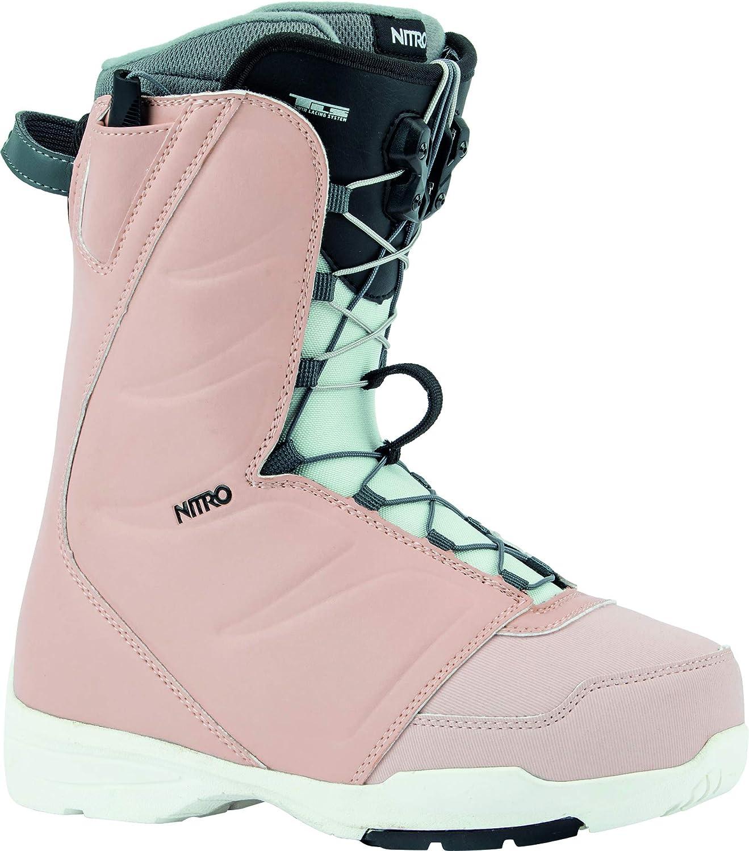 Nitro Snowboards Damen FLORA TLS 20 All Mountain Freestyle Schnellschn/ürsystem g/ünstig Boot Snowboardboot