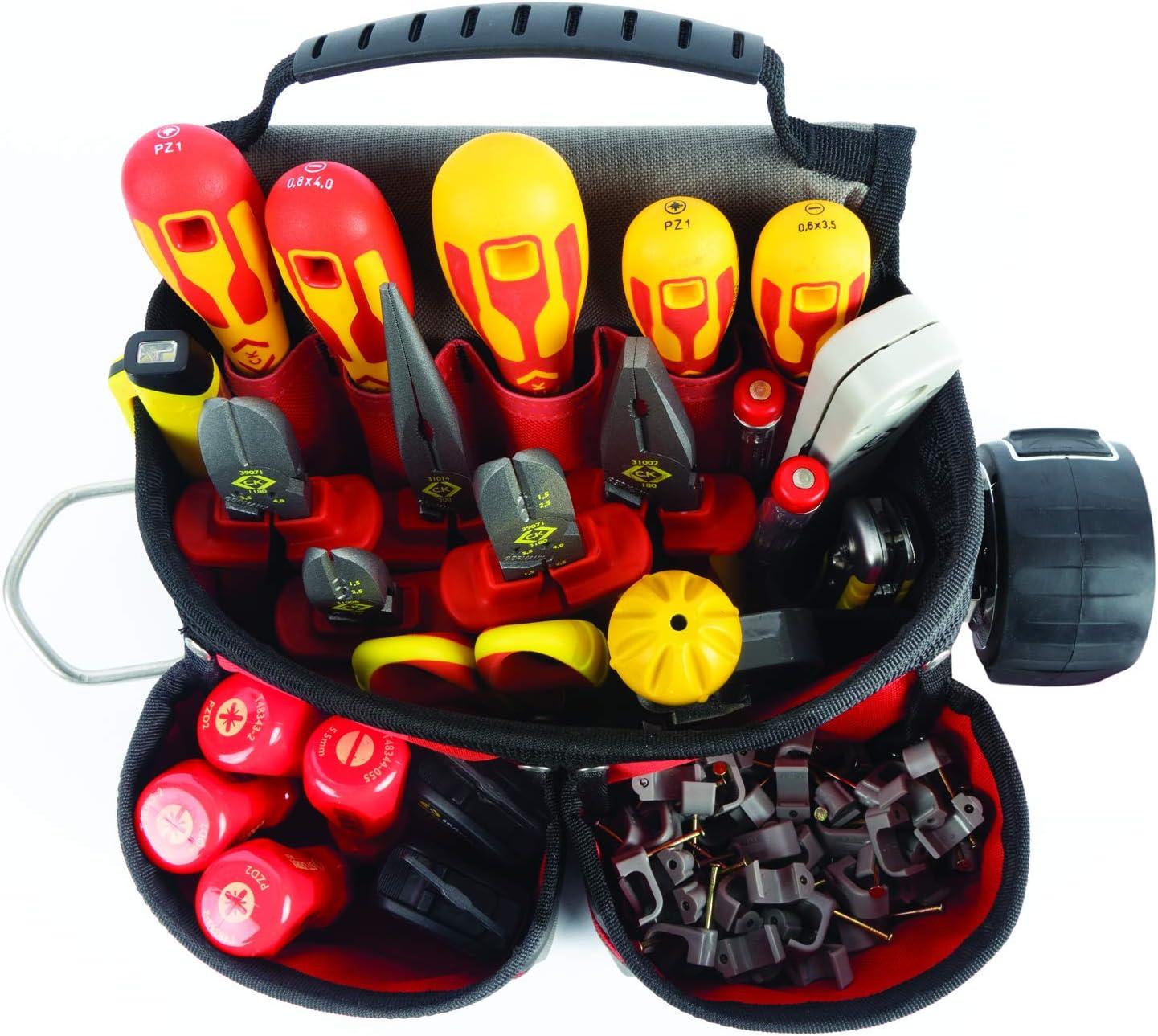 CK Magma MA2716A Bâtisseurs Outil Pochette 9 poches /& porte-outils droit Gaucher