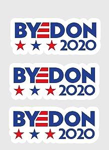 Joe Byedon 2020 5 INCH Political Bumper Sticker Pack of 3
