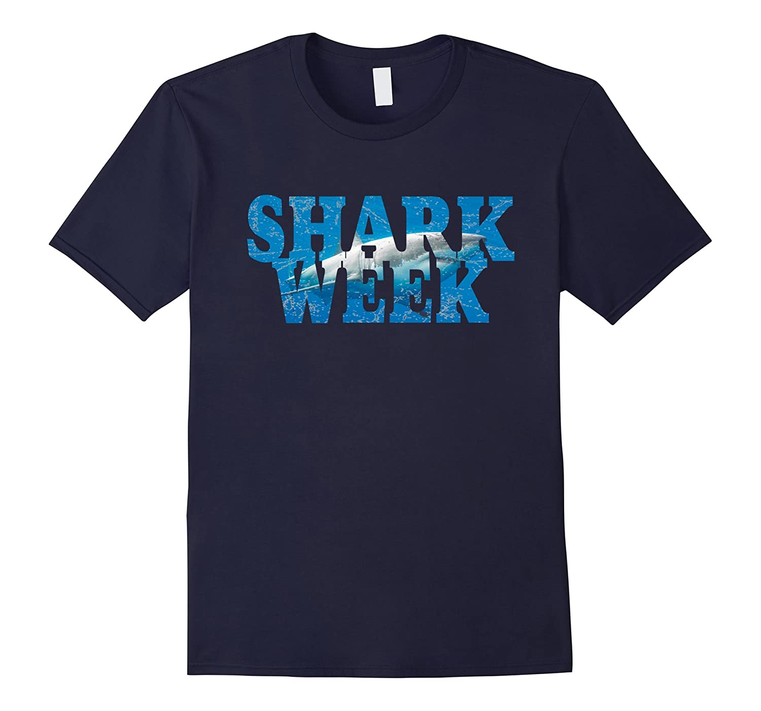 Week Of The Shark - New 2017 Graphic Funny T-Shirt-BN