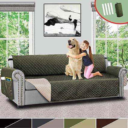 Amazon.com: Vailge Oversize Reversible Sofa Cover, Extra Large Sofa ...
