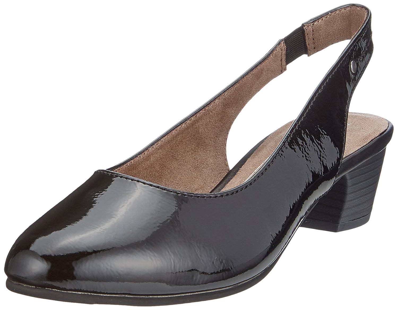 Softline 29561 Sandali con Cinturino alla Caviglia Donna Nero Black