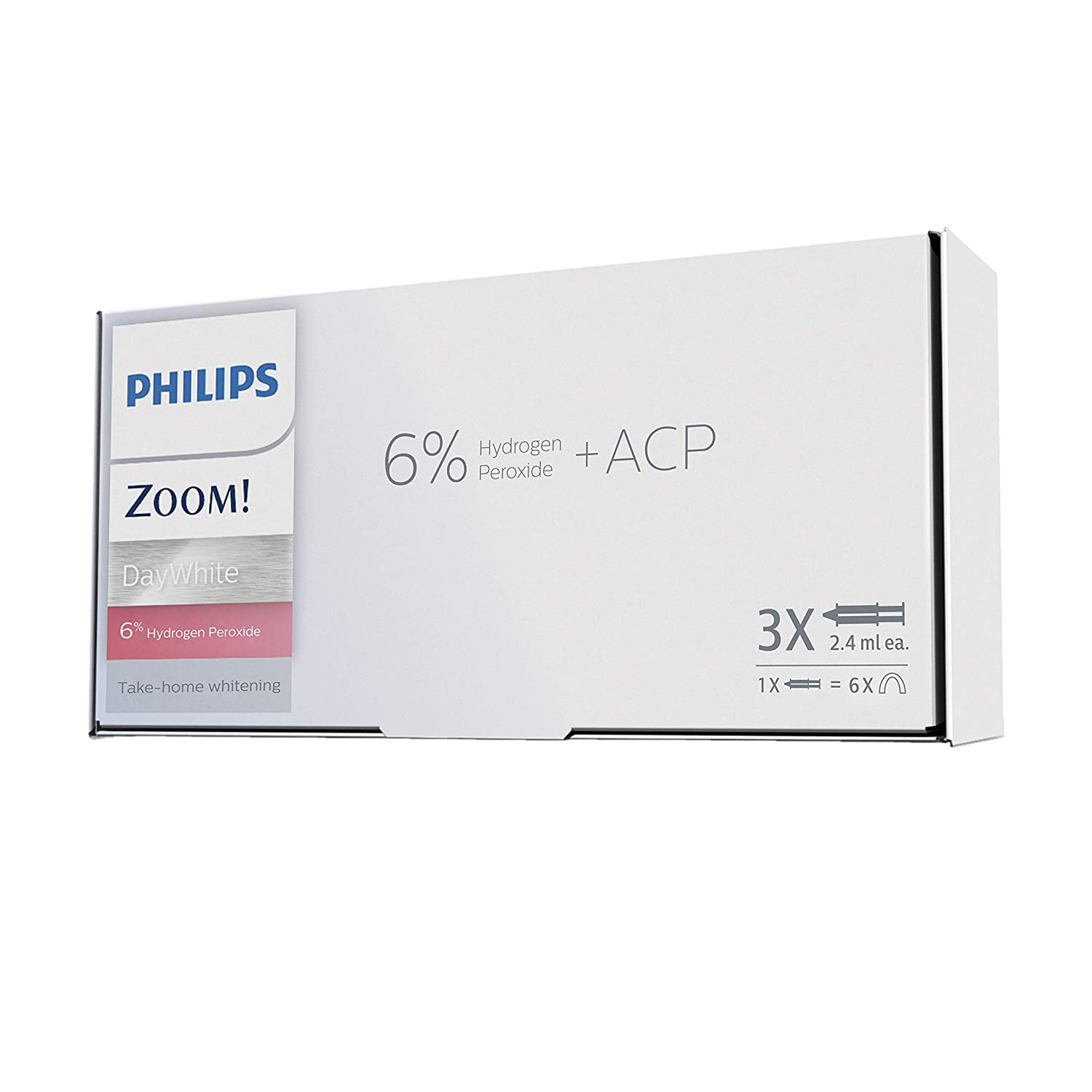 Philips Zoom DIS130/11Take Home Patient Care Kit DayWhite 6% HP (3 syr)