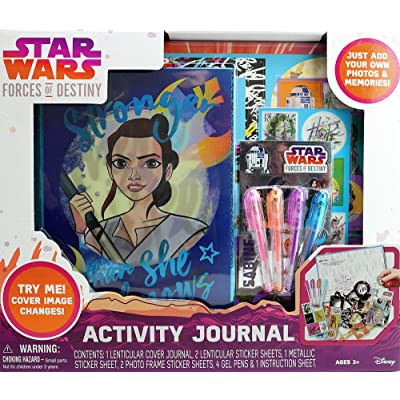 Star Wars Tara Toy Forces of Destiny Journal: Toys & Games