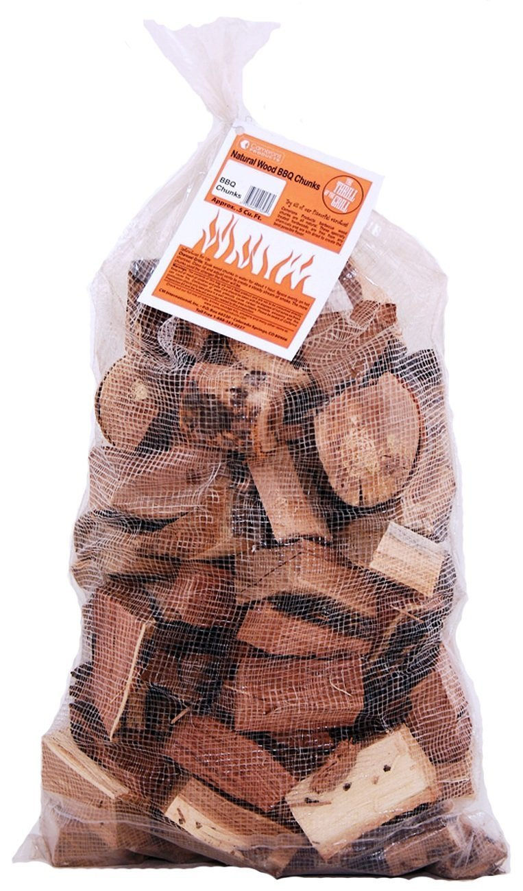 Camerons Products Smoking Wood Chunks (Hickory)- Kiln Dried BBQ Large Cut Chips- All Natural Barbecue Smoker Chunks- 10 Pound Bag