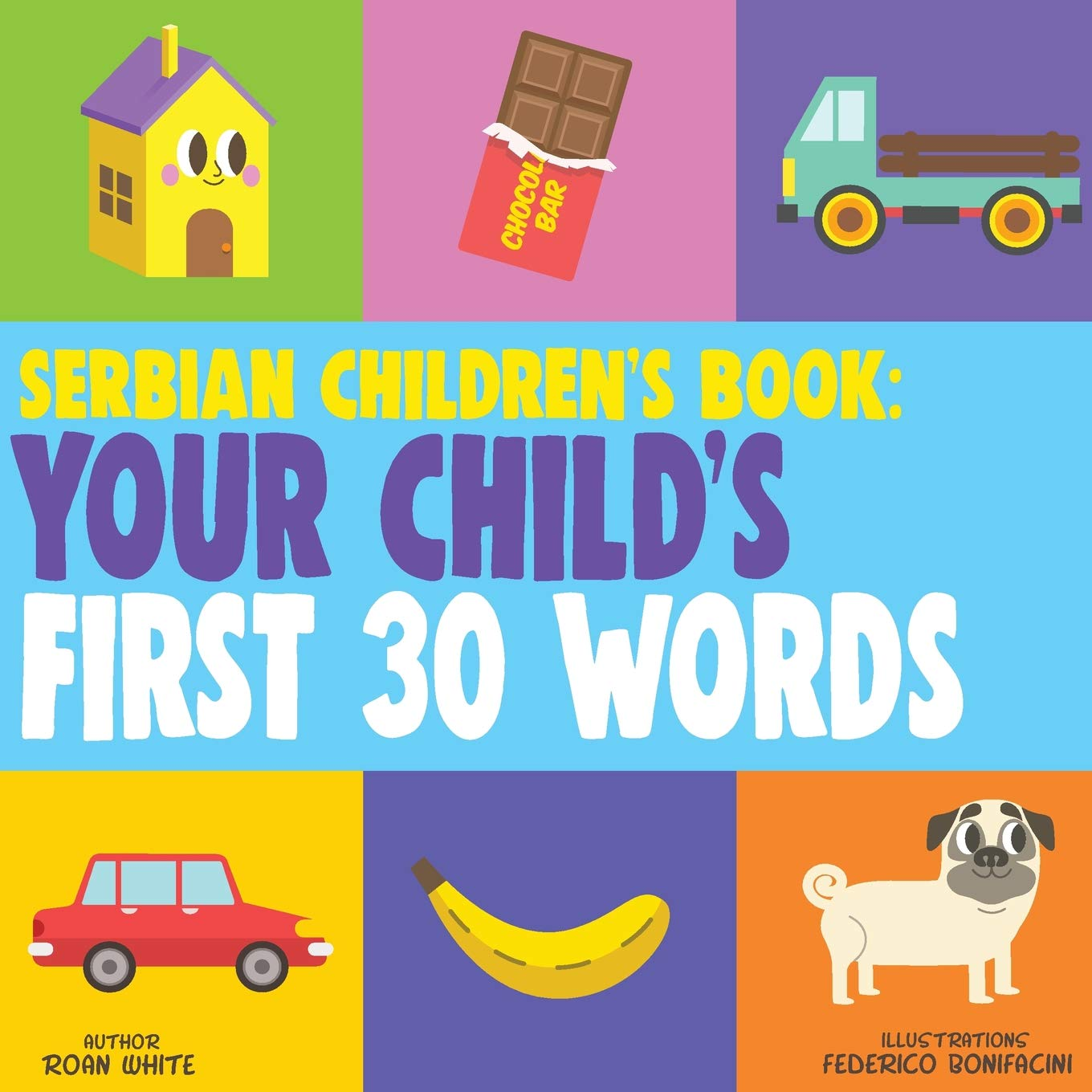 Serbian Childrens Book Your Childs First 30 Words