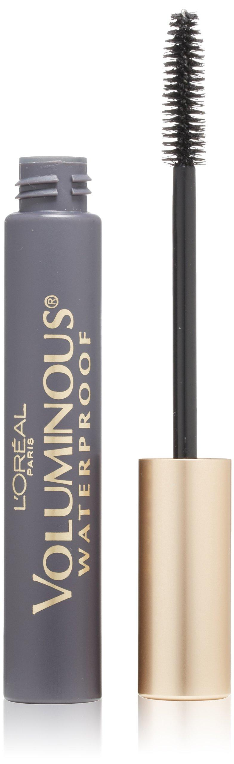 L'Oréal Paris Voluminous Volume Building  Waterproof Mascara, Black, 0.28 fl. oz.