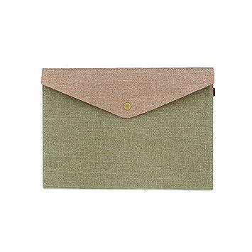 toymytoy carpeta de archivo document archivador bolsa de documentos (feutre-23,5 X