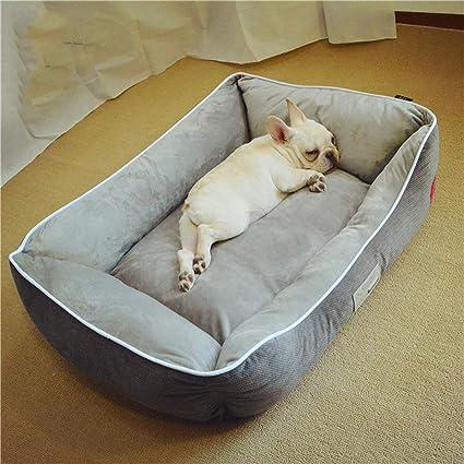 Nido para Mascotas, Cama de Perro/Gato cálida e Invernal de algodón PP Grande