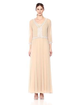 J Kara Beaded Jacket Dress