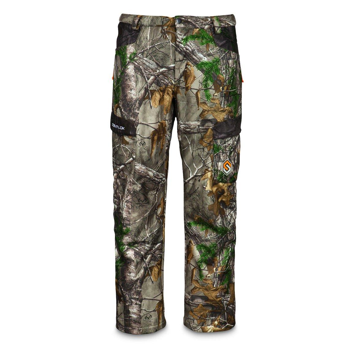 ScentLok Men's Full Season TAKTIX Hunting Pants, Mossy Oak Break-Up Country, XL