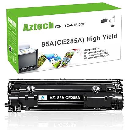 aztech 2 Pack XXL 2500 páginas compatible para HP 85 A CE285 A ...
