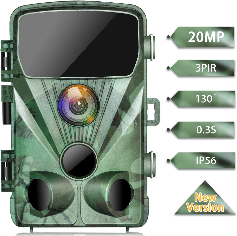 TOGUARD Trail Camera 20MP 1080P Game Cameras
