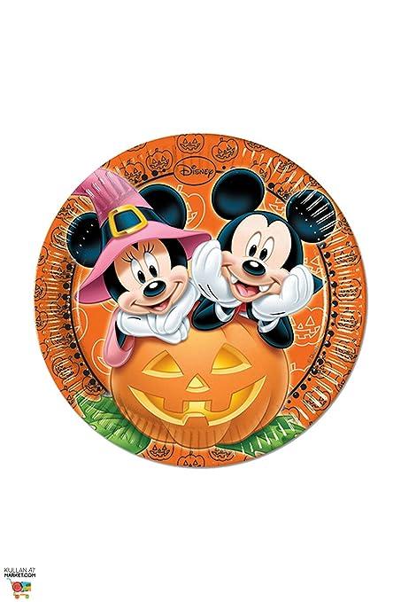 Amazon Procos Sa Mickey Mouse Halloween Dinner Plates