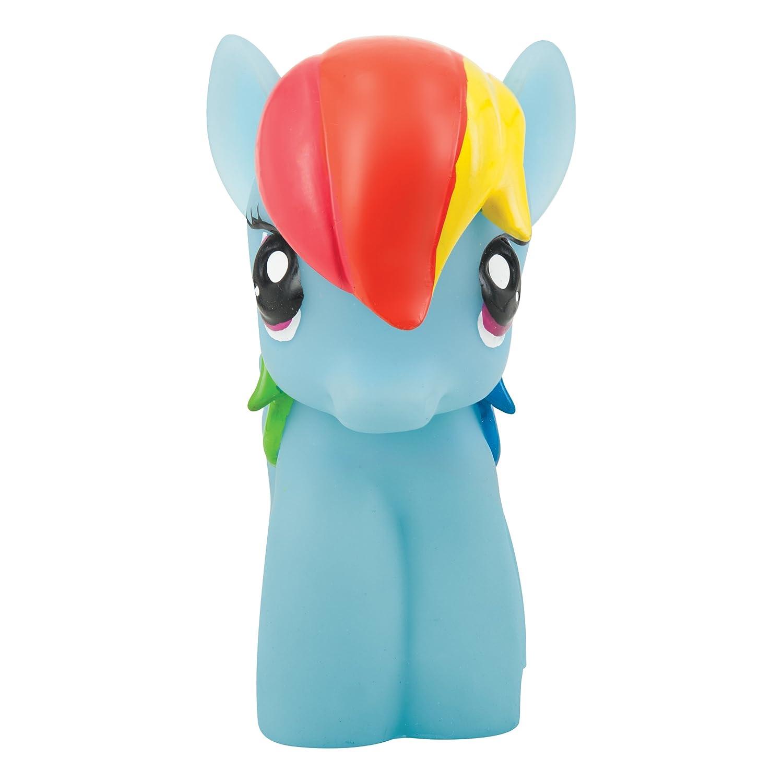 Joy Toy 40441 My Little Pony Rainbow Dash Softlite Nachtlicht mit Auto-Off Funktion, 9 x 11 x 15 cm, Mehrfarbig 40443
